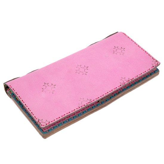 OjagaDesign Long wallet Rigel (ピンク)