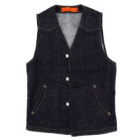 GO WEST RANCHER VEST (ONE WASH)