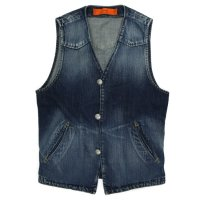 GO WEST RANCHER VEST (VINTAGE WASH)