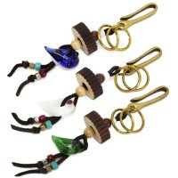GO HEMP×DragonPipe BRASS KEY RINGS