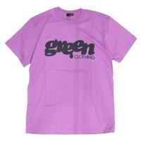 GREEN CLOTHING (グリーンクロージング)#1 LOGO TEE (ラベンダー)(プリントTシャツ)