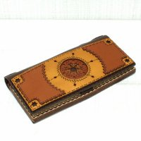 OjagaDesign Long Wallet Crater (BROWNIE)