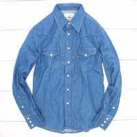 GO WEST RANCHER SHIRTS (Lt.INDIGO)