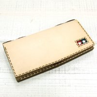 OjagaDesign TAMIYA Simple Long Wallet (Natural)