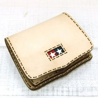 OjagaDesign TAMIYA Simple Short Wallet (Natural)