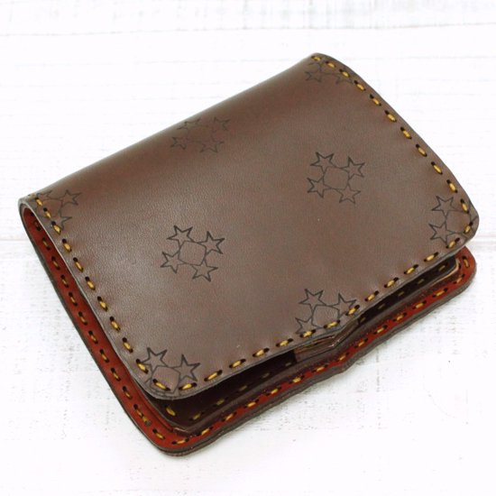 OjagaDesign Short Wallet Scutum (CHOCO BROWN A)