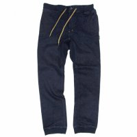 GO HEMP SLIM RIB PANTS (ONE WASH)
