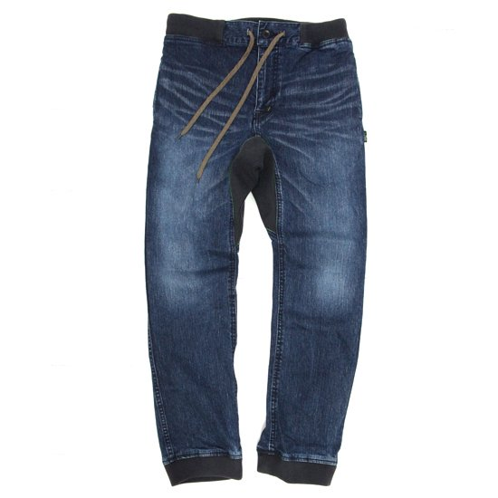 GO HEMP SLIM RIB PANTS (USED WASH)