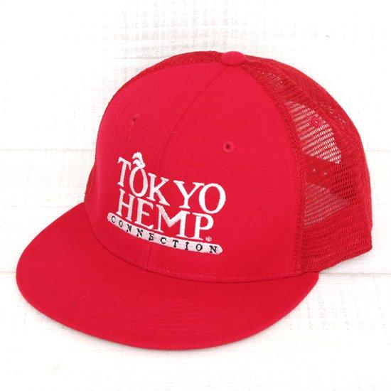 THC W.LOGO CAP MESH (RED)