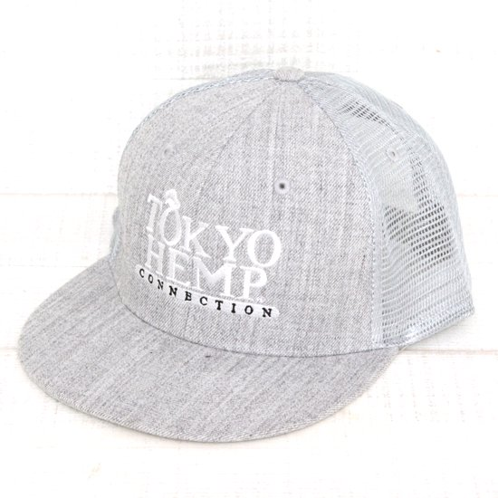 THC W.LOGO CAP MESH (HEATHER)