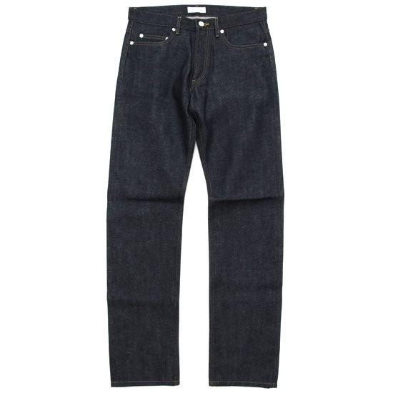 ORDINARY FITS 5POCKET DENIM STANDARD FITS (INDIGO)