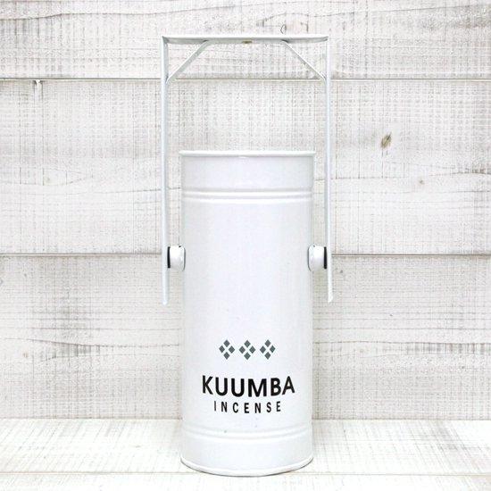 KUUMBA INCENSE BURNER REGULAR (WHITE)