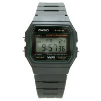 CASIO F-91W (GREEN)