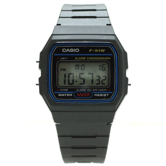 CASIO F-91W (BLUE)