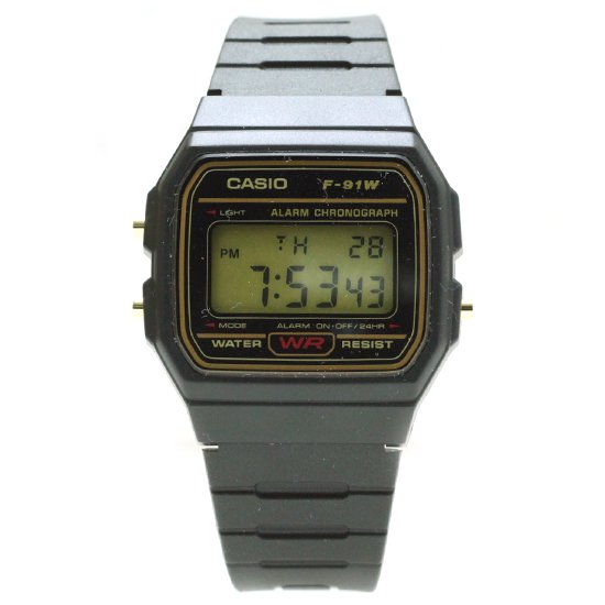 CASIO F-91W (GOLD)