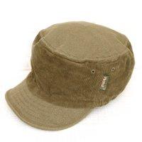 Phatee HALF CAP CORD/CANVAS (D/BEIGE)