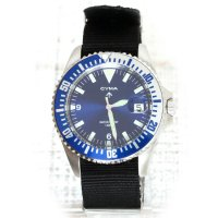 CYMA  DIVER'S WATCH (NAVY)
