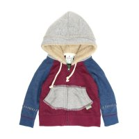 GO HEMP Kodomo KIDS GRASS PARKA (CHERRY PINK)