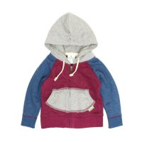 GO HEMP Kodomo KIDS ZIP UP PARKA (CHERRY PINK)