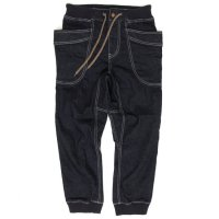 GO HEMP レディース VENDER RIB PANTS (ONE WASH)