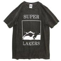 TACOMA FUJI RECORDS SUPER LAKERS S/S TEE (BLACK)(タコマフジレコード)