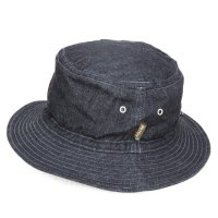 Phatee BUCKET HAT (INDIGO DENIM)