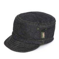 Phatee HALF CAP (BLACK DENIM)