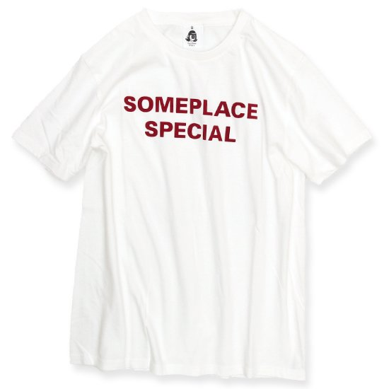 TACOMA FUJI RECORDS SOMEPLACE SPECIAL S/S TEE (WHITE)(タコマフジレコード)