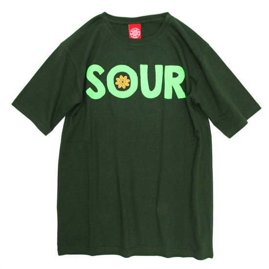 THC SOUR TEE (C.GREEN)