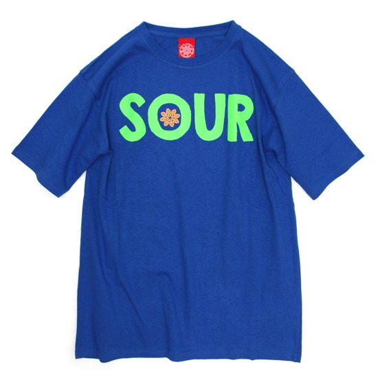 THC SOUR TEE (BLUE)