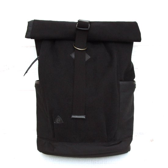 kukri kub-1501 Roll Top Backpack (ninja black)