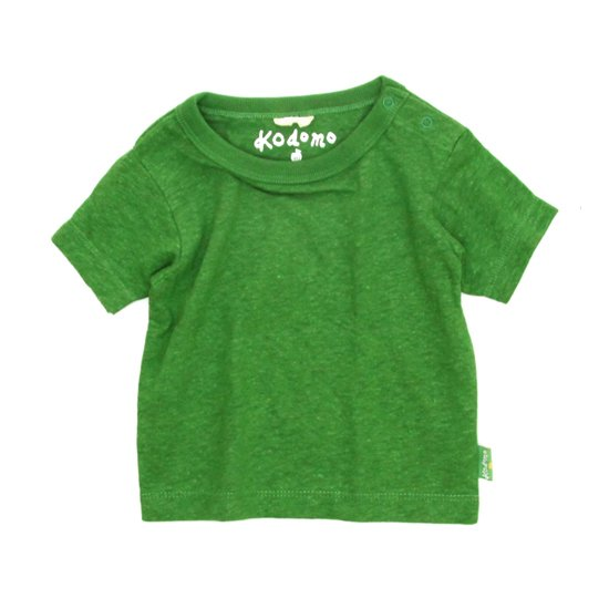 GO HEMP Kodomo BABY TEE (KELLY GREEN)