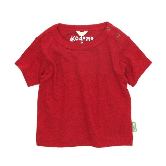 GO HEMP Kodomo BABY TEE (TRUE RED)