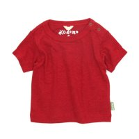 GO HEMP Kodomo BABY TEE (TRUE RED)