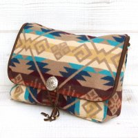 Early Morning CONCHO CLUTCH (COYOTE BUTTE KHAKI)