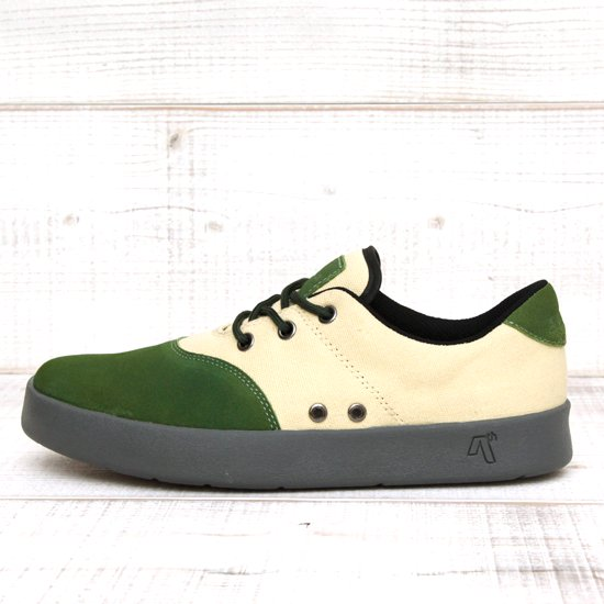 AREth PLUG (Light Green/Oatmeal)(アース スニーカー)