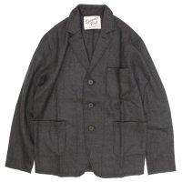 SPINNER BAIT ウールフラノ ジャケット (グレイ)