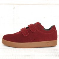 AREth I velcro (Burgundy)(アース スニーカー)