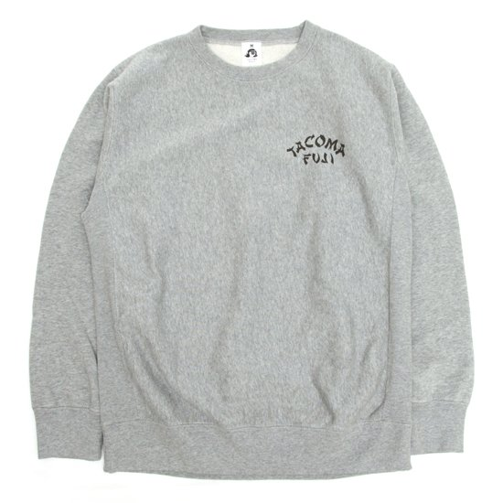 TACOMA FUJI RECORDS ORIENTAL LOGO SWEAT (HEATHER GRAY)(タコマフジレコード)