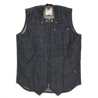 Nasngwam LATTICE QUILT WESTERN VEST (ONE WASH)