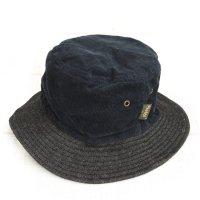 Phatee BUCKET HAT (SUMIKURO CORD/BLACK DENIM)