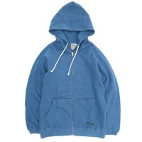 A HOPE HEMP Regular Full Zip PK (Slite Blue)