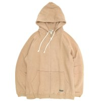 A HOPE HEMP Regular Full Zip PK (Dark Sandy)