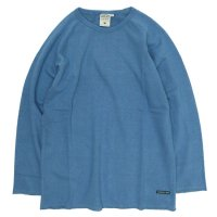 A HOPE HEMP Raglan Light Sweat (Slite Blue)