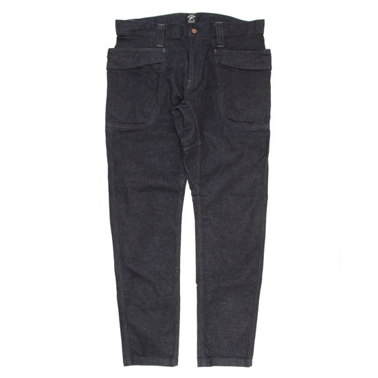 GO HEMP VENDER TAPERED SLIM PANTS STRETCH (ONE WASH)