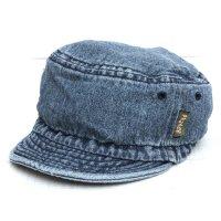 Phatee HALF CAP (WASHED INDIGO DENIM)