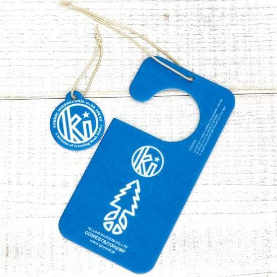 KUUMBA × GO HEMP PAPER AIR FRESHENER (BLUE)