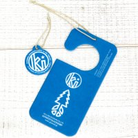 KUUMBA × GO HEMP PAPER AIR FRESHENER (BLUE)