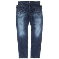 GO HEMP レディース VENDER TAPERED SLIM PANTS STRETCH (USED WASH)