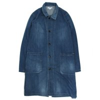 ORDINARY FITS GARAGE COAT DENIM (USED WASH)